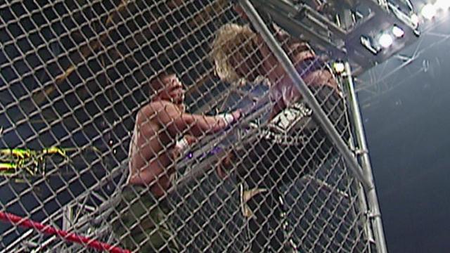 Resultado de imagem para edge vs john cena steel cage match