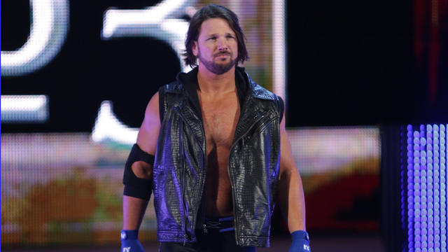 Unseen footage of AJ Styles' Royal Rumble debut on WWE ...