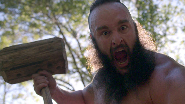 Braun Strowman's monstrous WrestleMania 33 workout