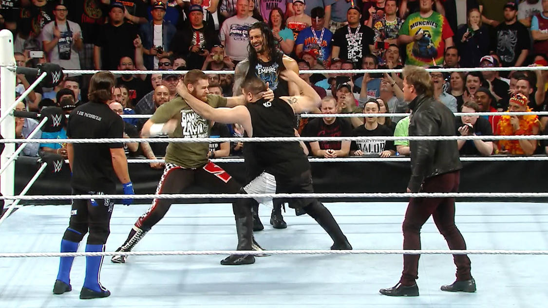 Resultat WWE RAW 4 avril