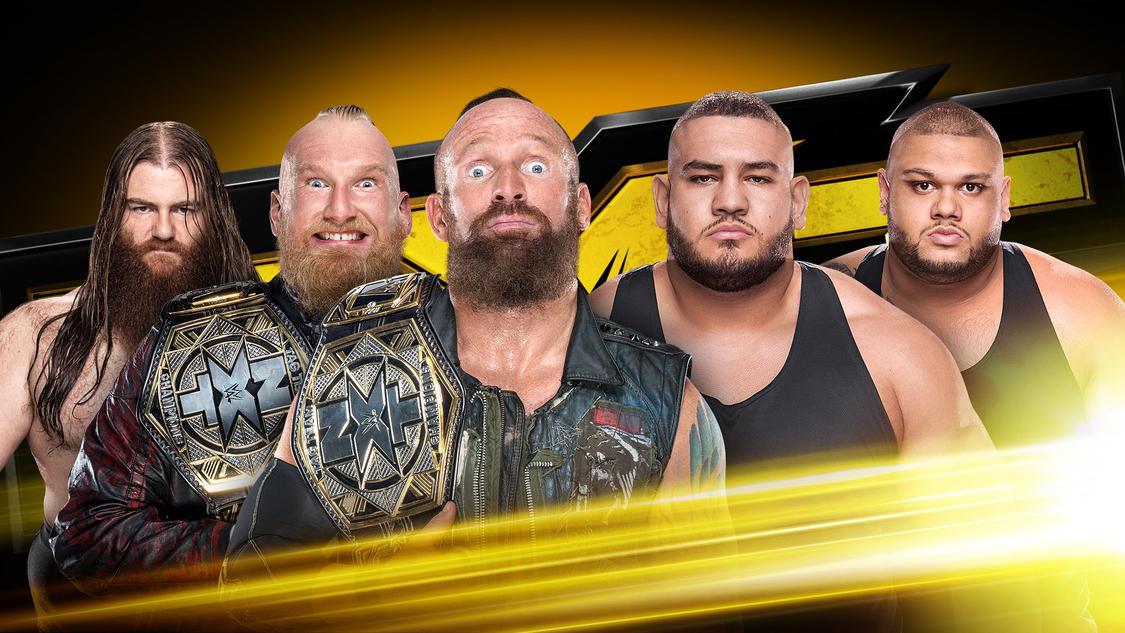 Resultats WWE NXT 1 novembre 2017