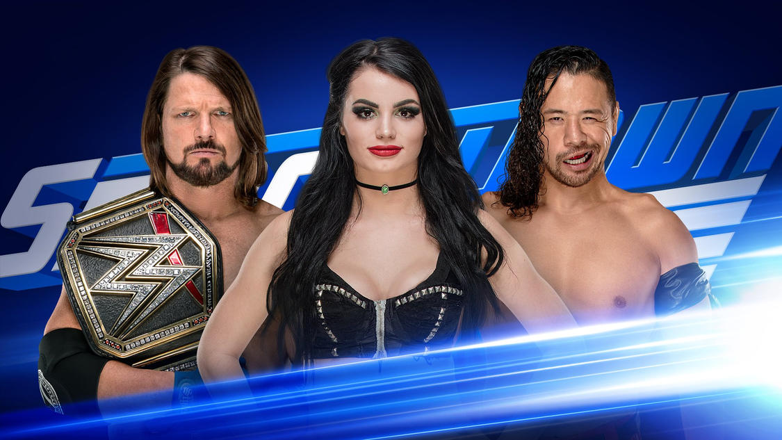 SmackDown GM, champion and challenger!