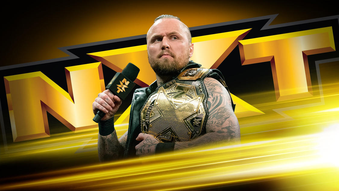 The NXT Champion will address his coming challenge