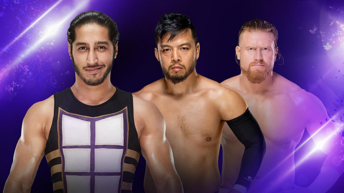 Will one of these men move on to face the Cruiserweight Champion?
