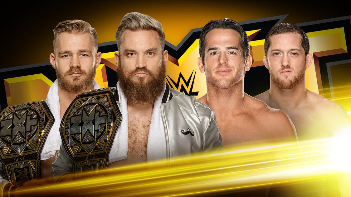 Which team will be the NXT Tag Team Champions after tonight?