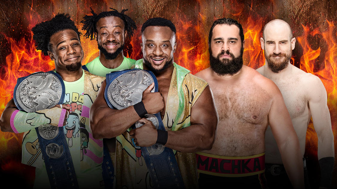 Confirmed and Potential Matches for WWE Hell in a Cell 2018 20180911_HIAC_NewDayRusevDay--f1d58fca30a0064a7b7a2b37ca4e1cfe