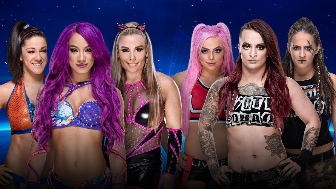 Confirmed and Potential Matches for WWE Evolution 2018 20181022_Evolution_MATCH_BayleySashaNatalyaRiotSquad--1c1322d4fd699f44162c9cdc126bf5da