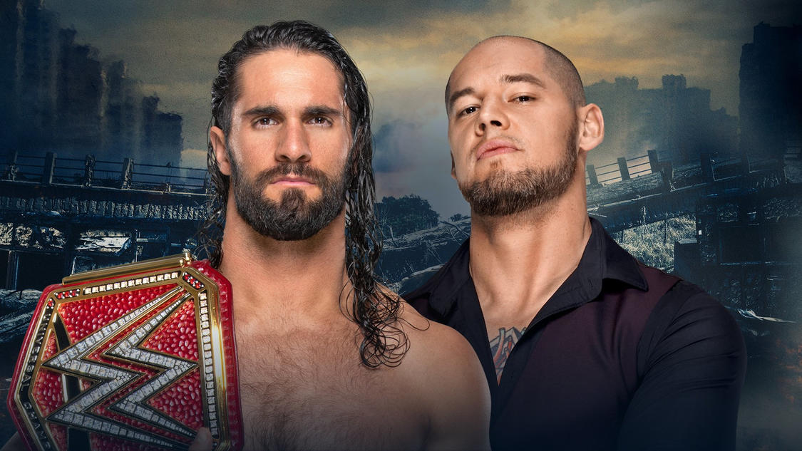 WWE Stomping Grounds Rollins Corbin