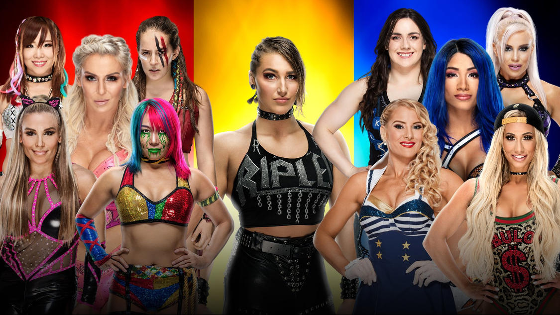 Confirmed and Potential Matches for WWE Survivor Series 2019 20191119_SurvivorSeries_CarmellaSashaDanaLaceyNiki_Rhea_Update3--513fa55467aacc28957927a82d8fd49b