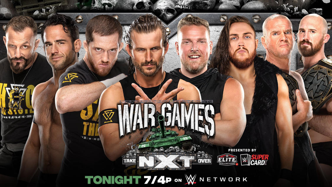 NXT Takeover WarGames 2020 Results