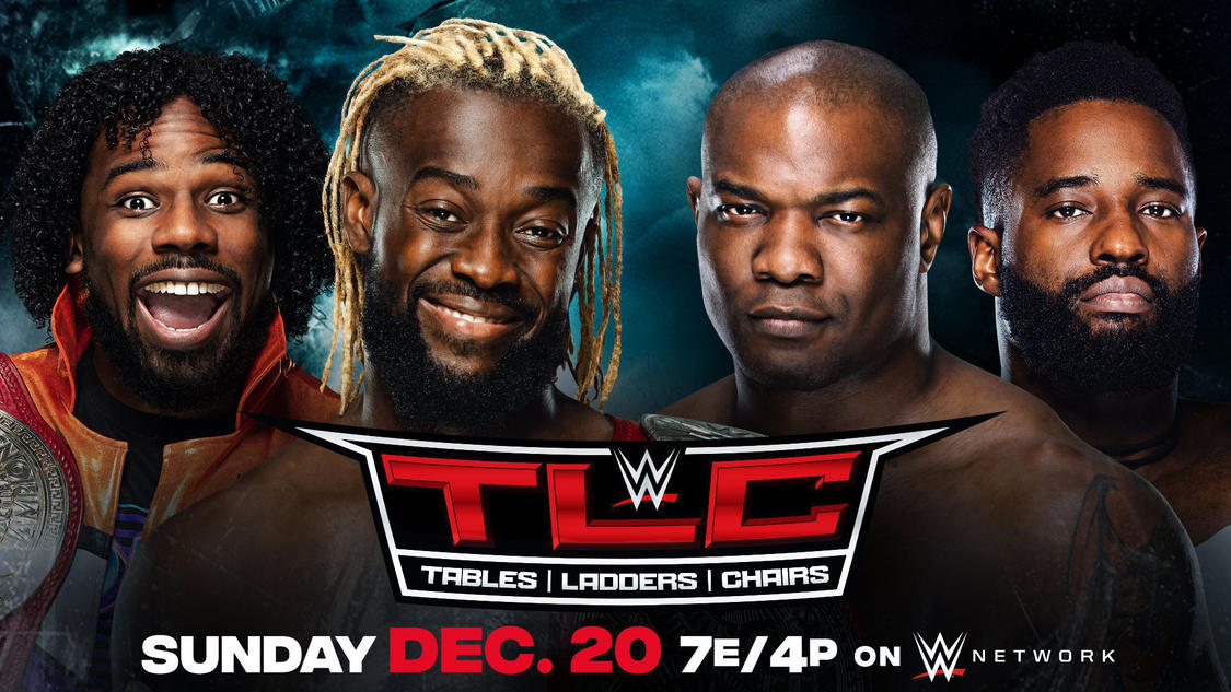 Hurt Business Vs The New Day Announced For WWE TLC
