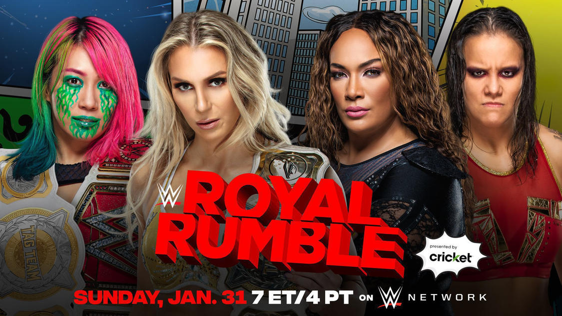 Women's Tag Team Title Match Added To Royal Rumble, More Participants Revealed