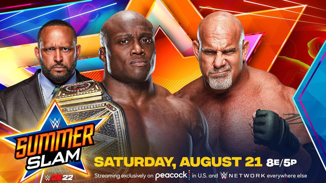 Interesting Stat On Bobby Lashley Vs Goldberg At WWE SummerSlam