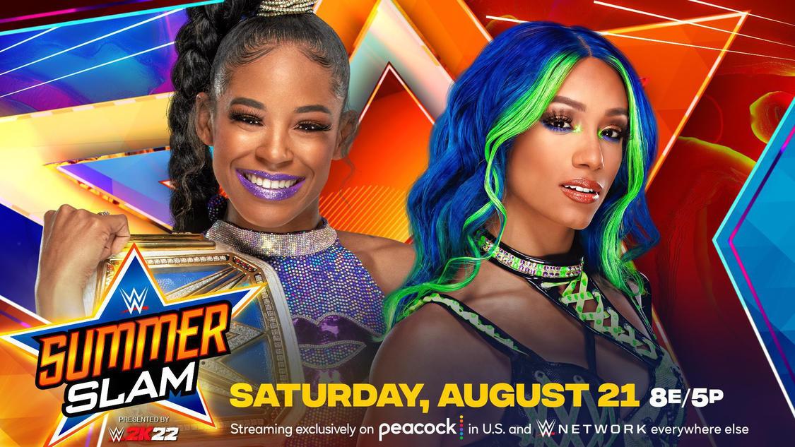 Sasha Banks Vs Bianca Belair Title Match Announced For SummerSlam
