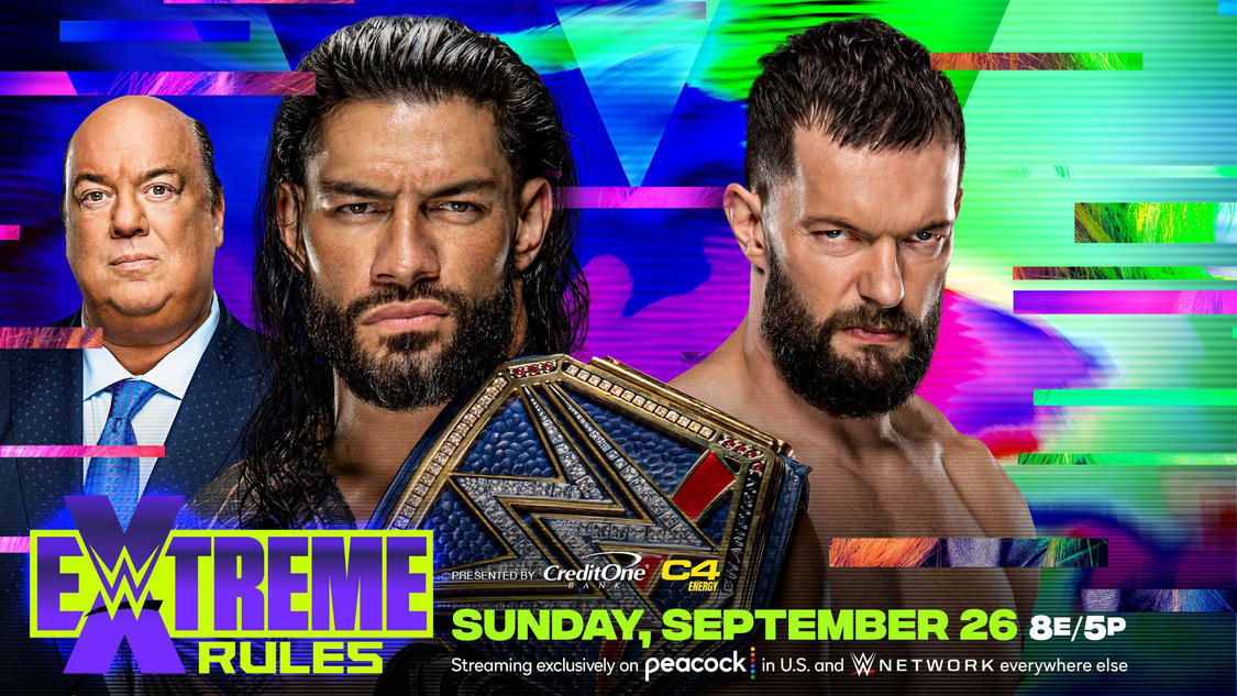 WWE Announces Universal Title Match For Extreme Rules