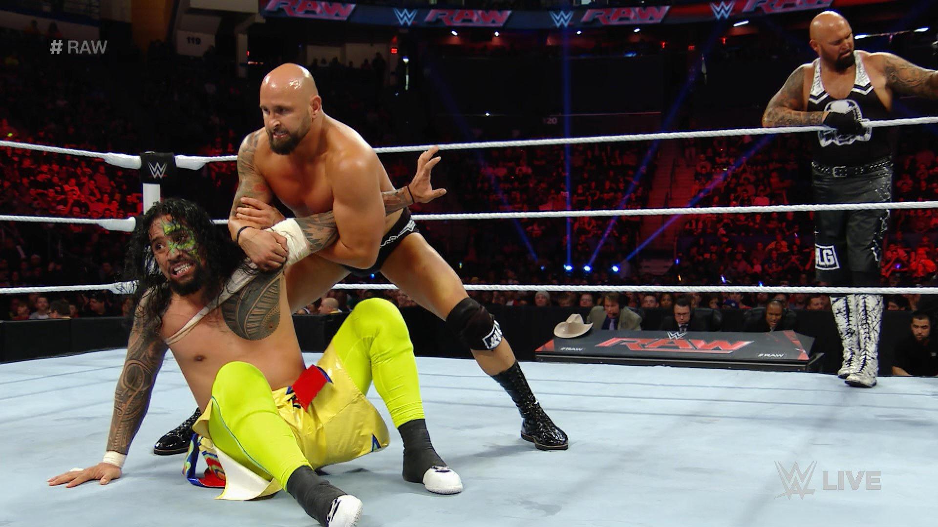 Resultat WWE RAW 25 avril