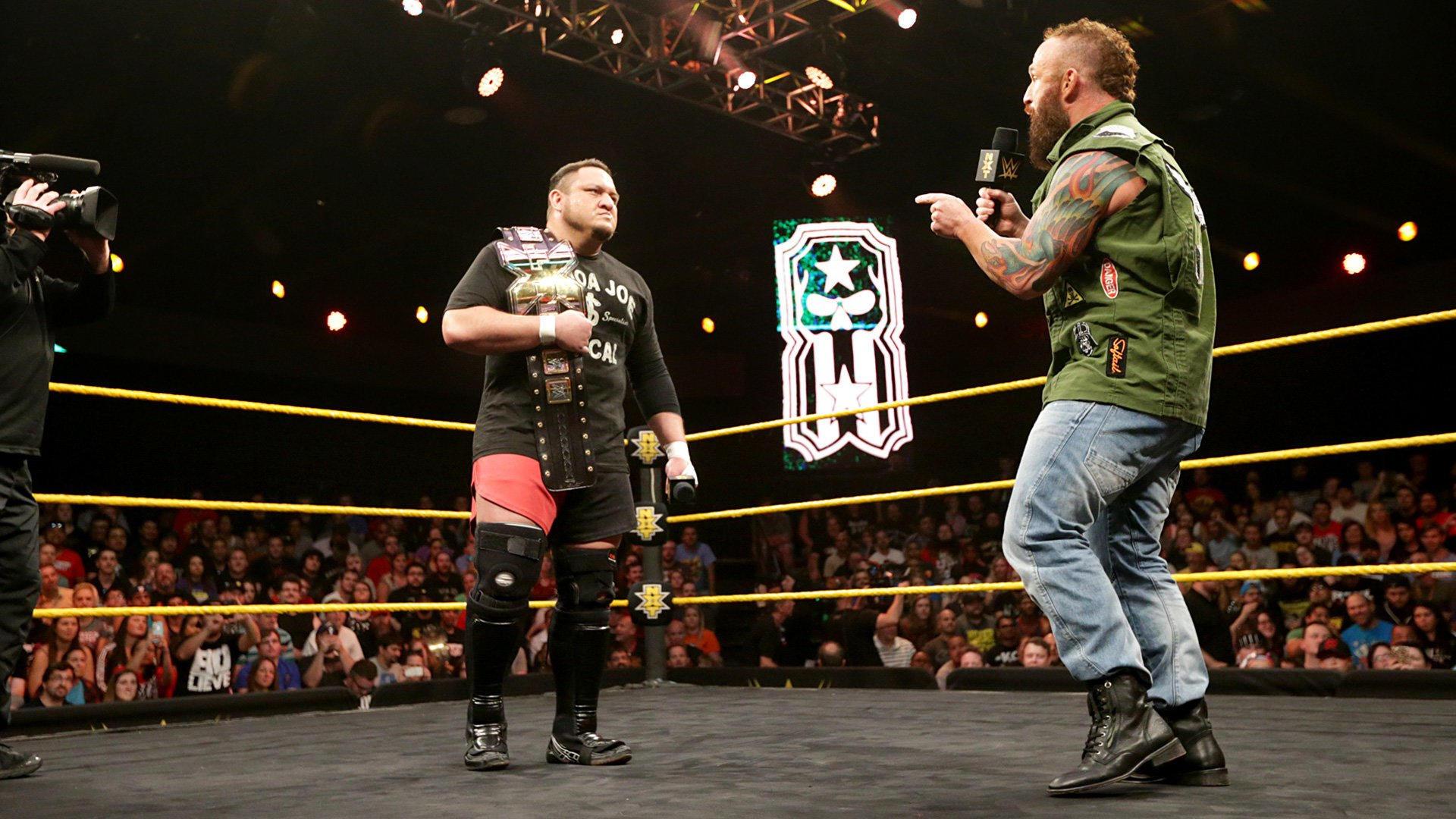 Resultats NXT 4 mai
