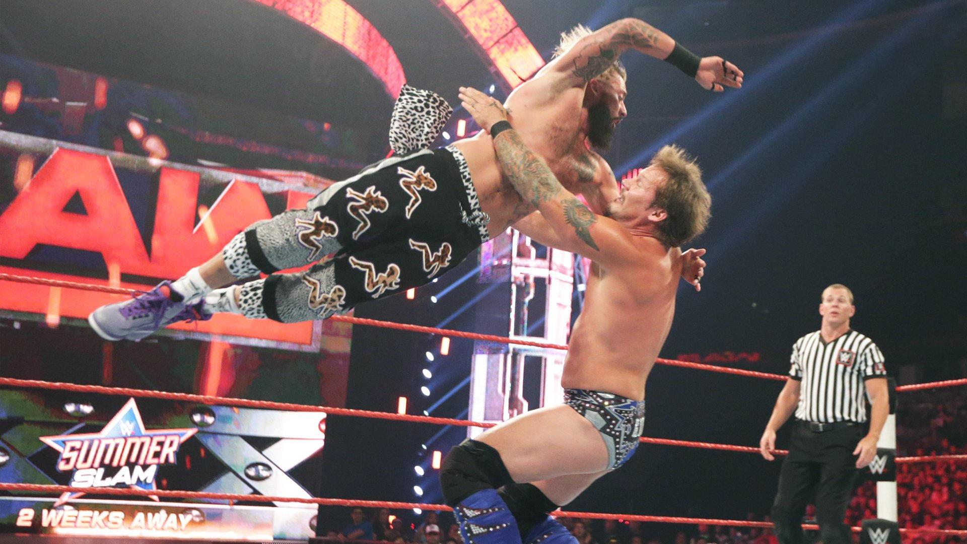 Resultats WWE RAW 8 aout