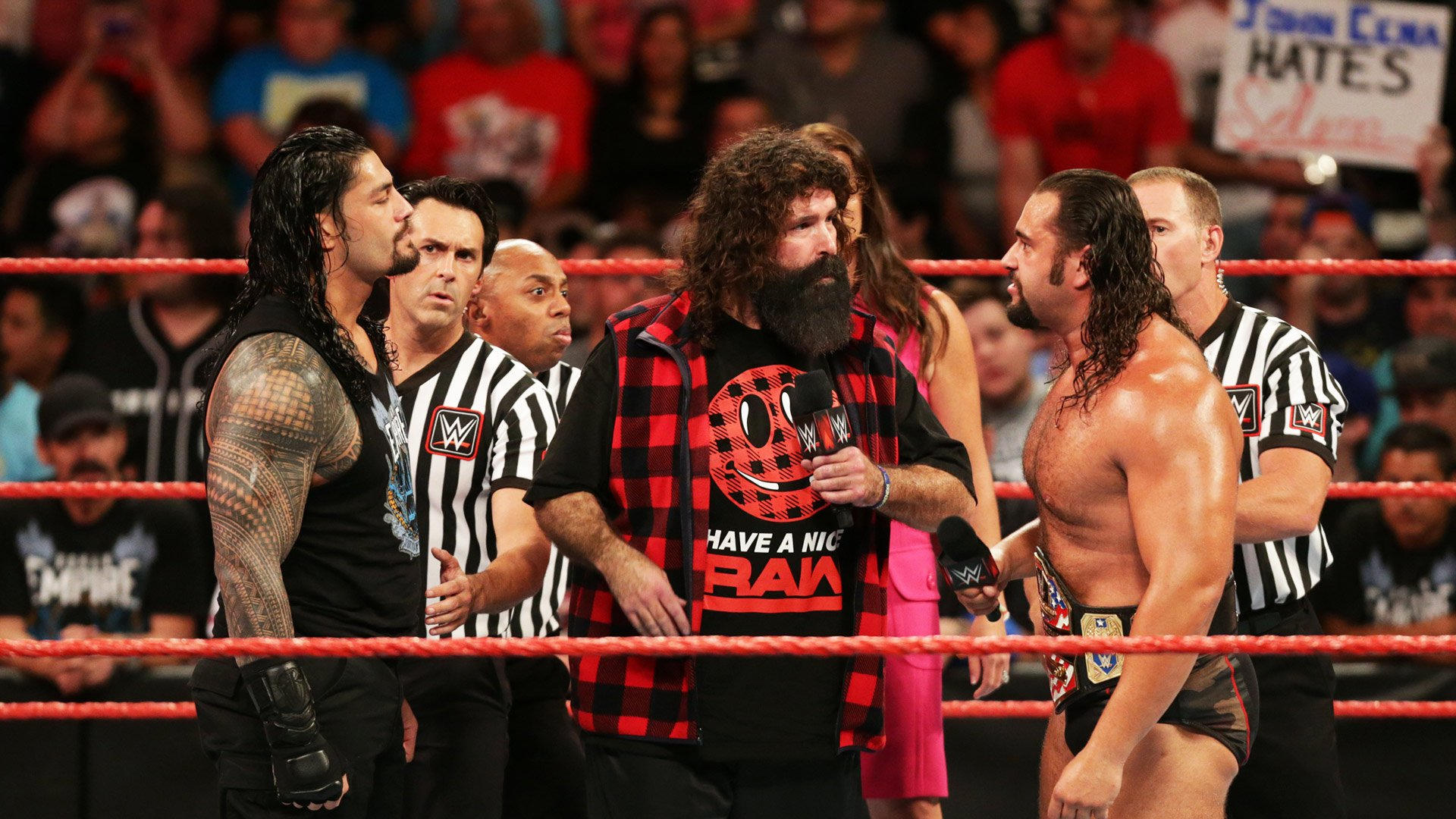 Resultats WWE RAW 15 aout