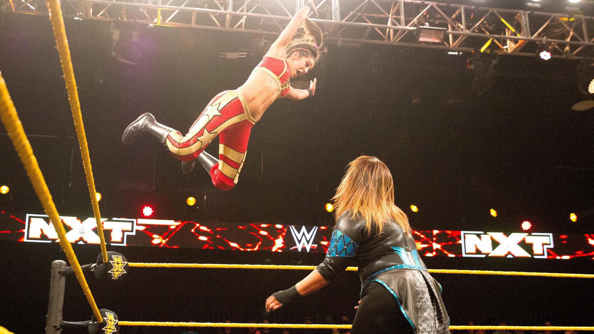 Resultats WWE NXT 20 juillet