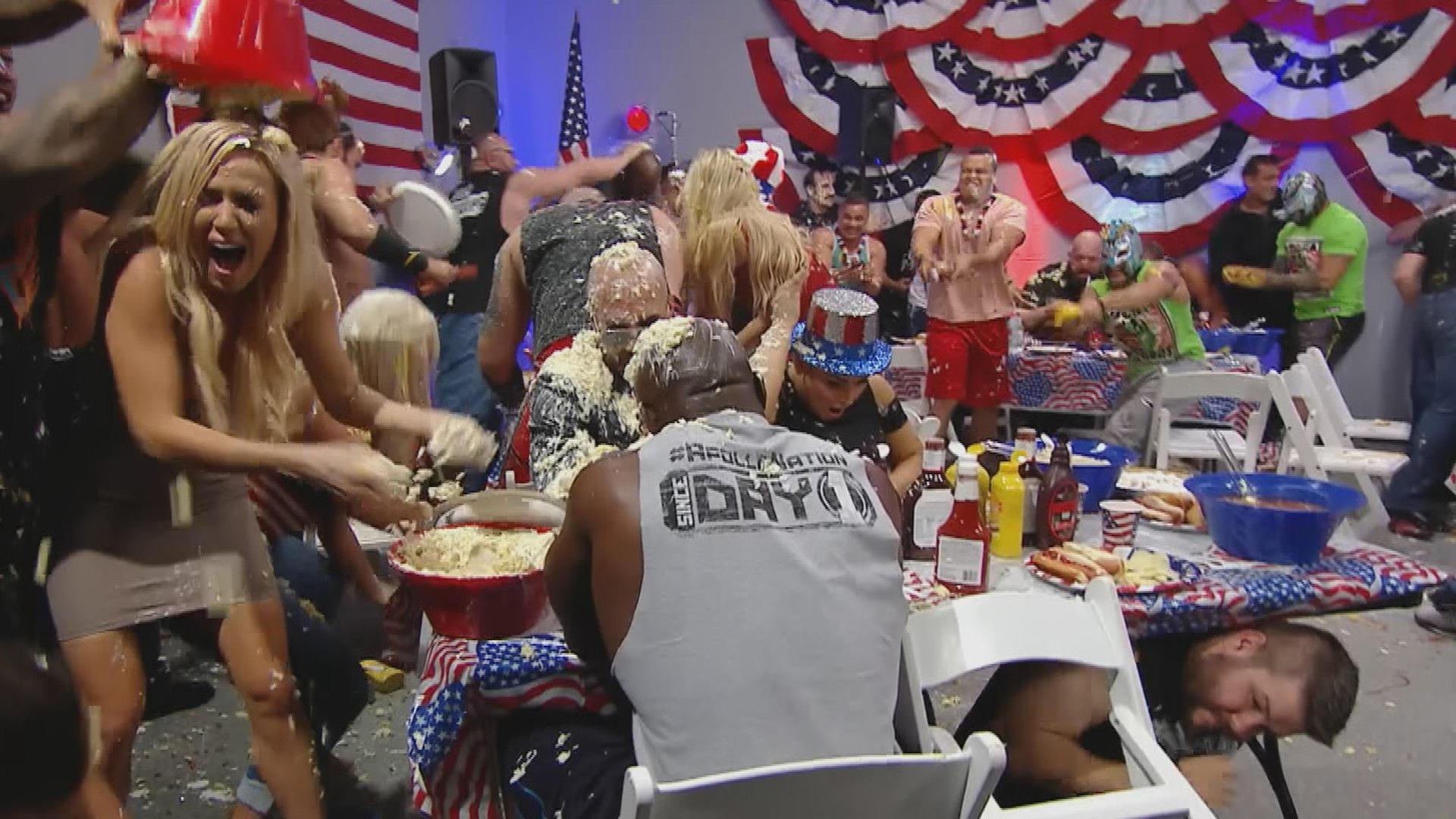 Resultats WWE RAW 4 juillet