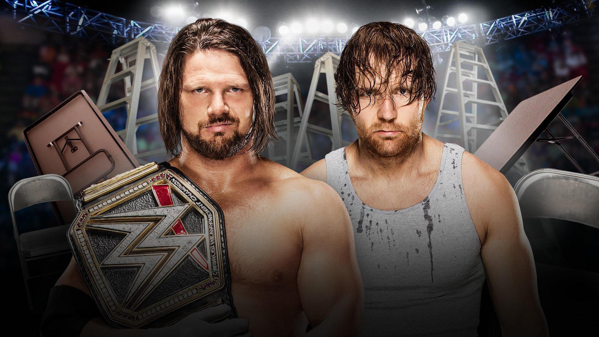 WWE TLC - DECEMBER 4 - DALLAS, TEXAS 20161115_TLC_Match_StylesAmbrose--786cdbdf6544931d235f19611cc5b586