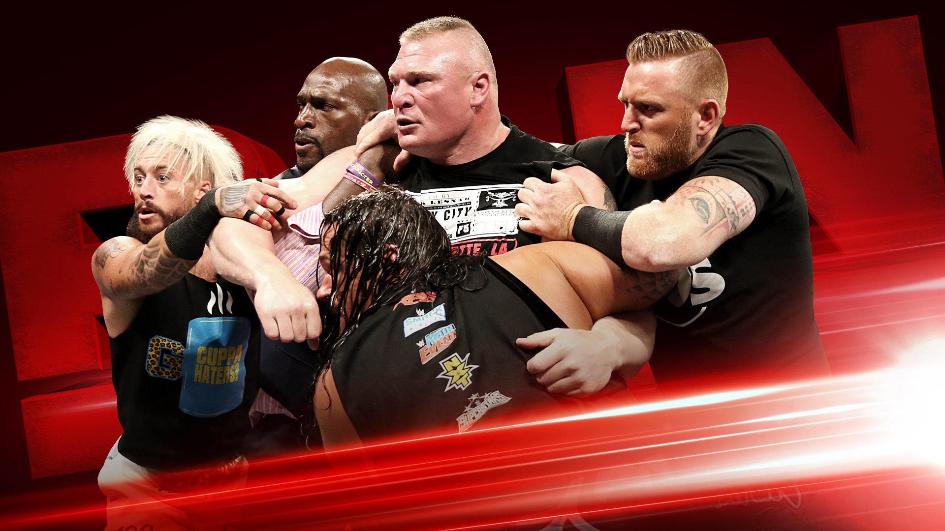 Brock Lesnar, Goldust & R-Truth, Enzo Amore & Big Cass, More