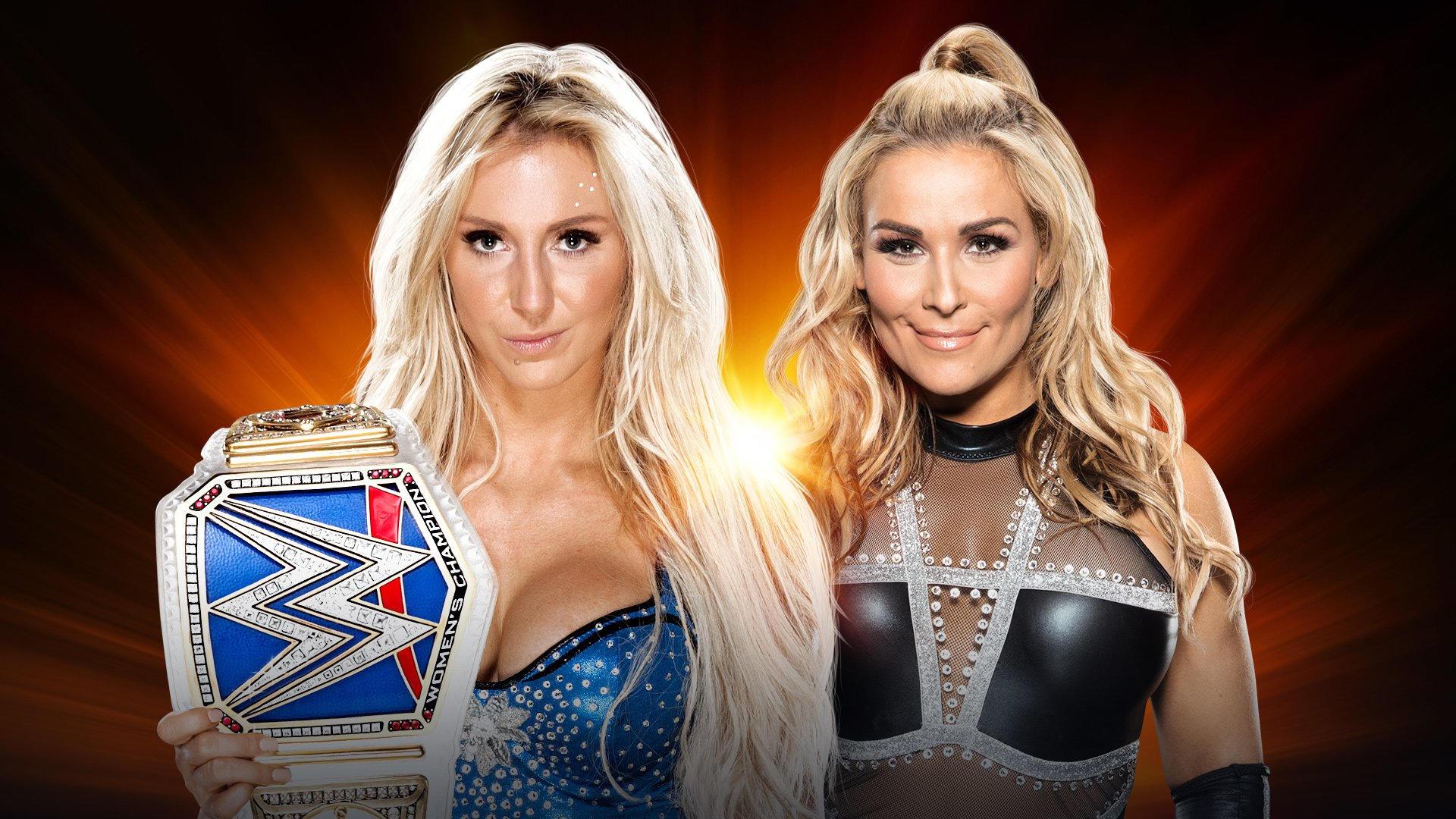 smackdown women's champion charlotte flair vs. natalya | wrestling