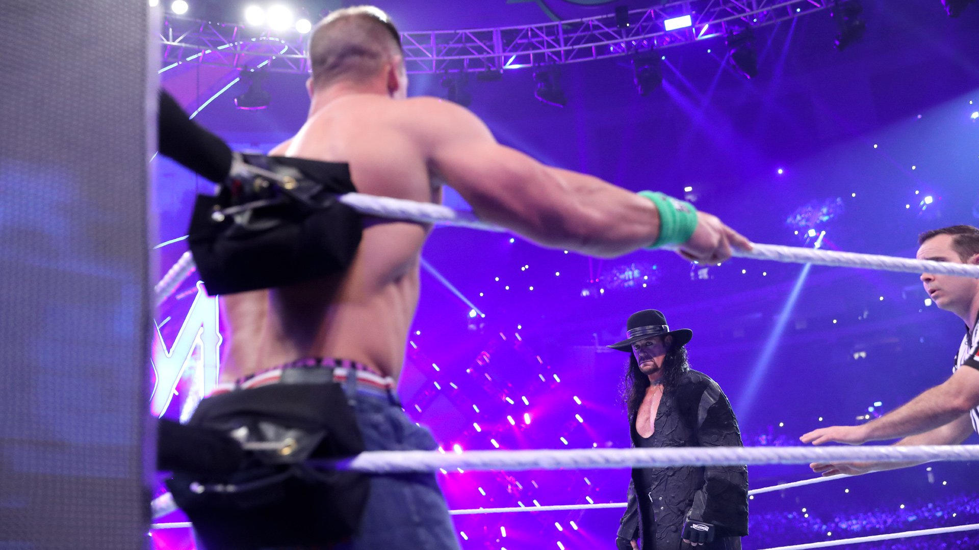 The Undertaker def. John Cena