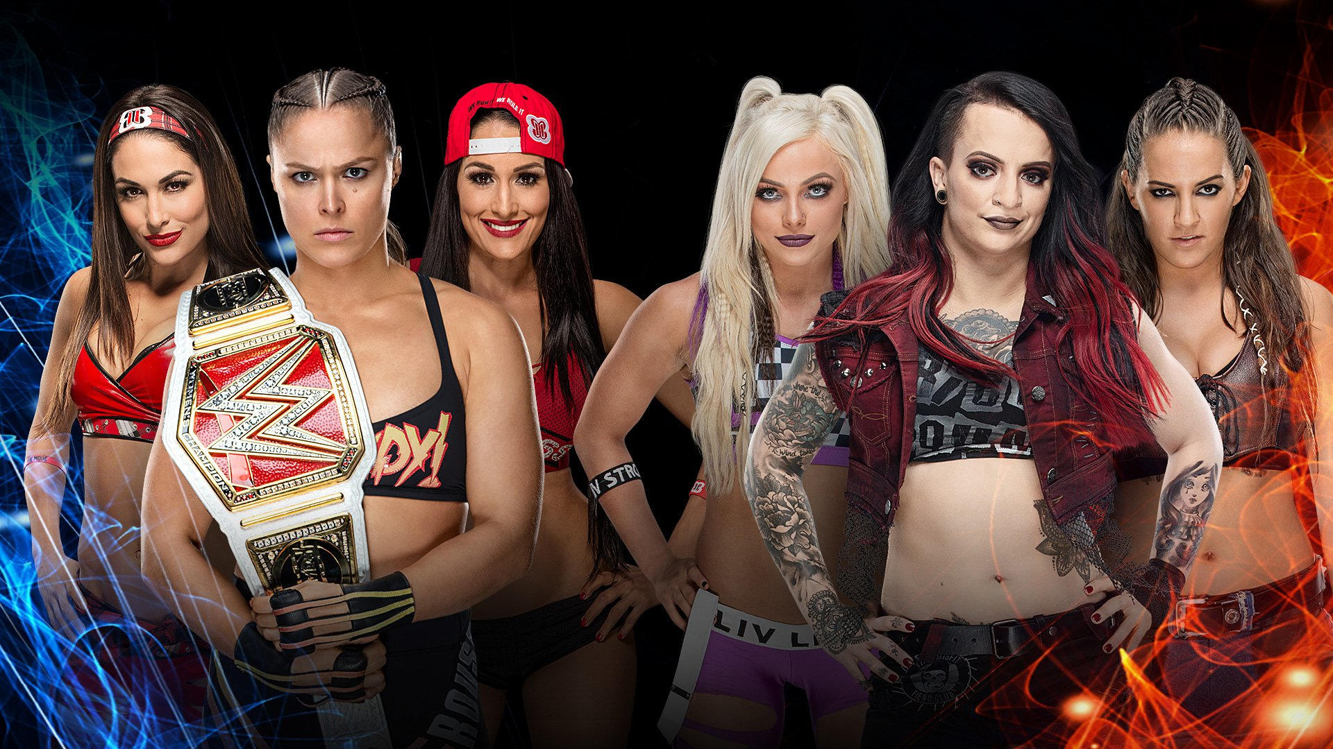 Confirmed and Potential Matches for WWE Super Show-Down 2018 20180827_SuperShowDown_Ronda_Bellas_Riott_Squad--2264f9134bb8d9dc78cb5bbdf0f1a2b2