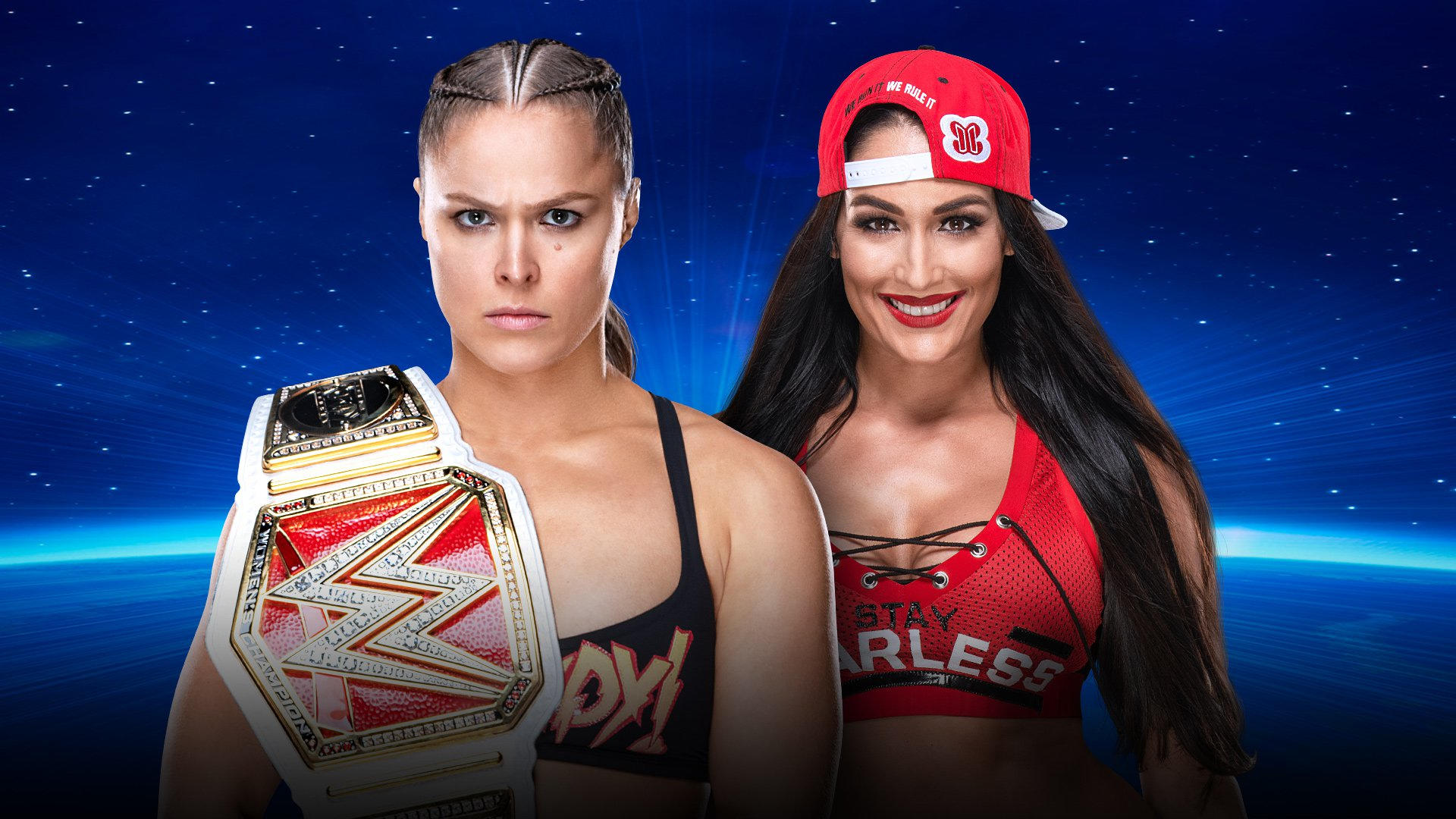 Confirmed and Potential Matches for WWE Evolution 2018 20181009_Evolution_MATCH_RondaNikki_nologo--69d6242789bb8a382cfbabb2fc7f7752