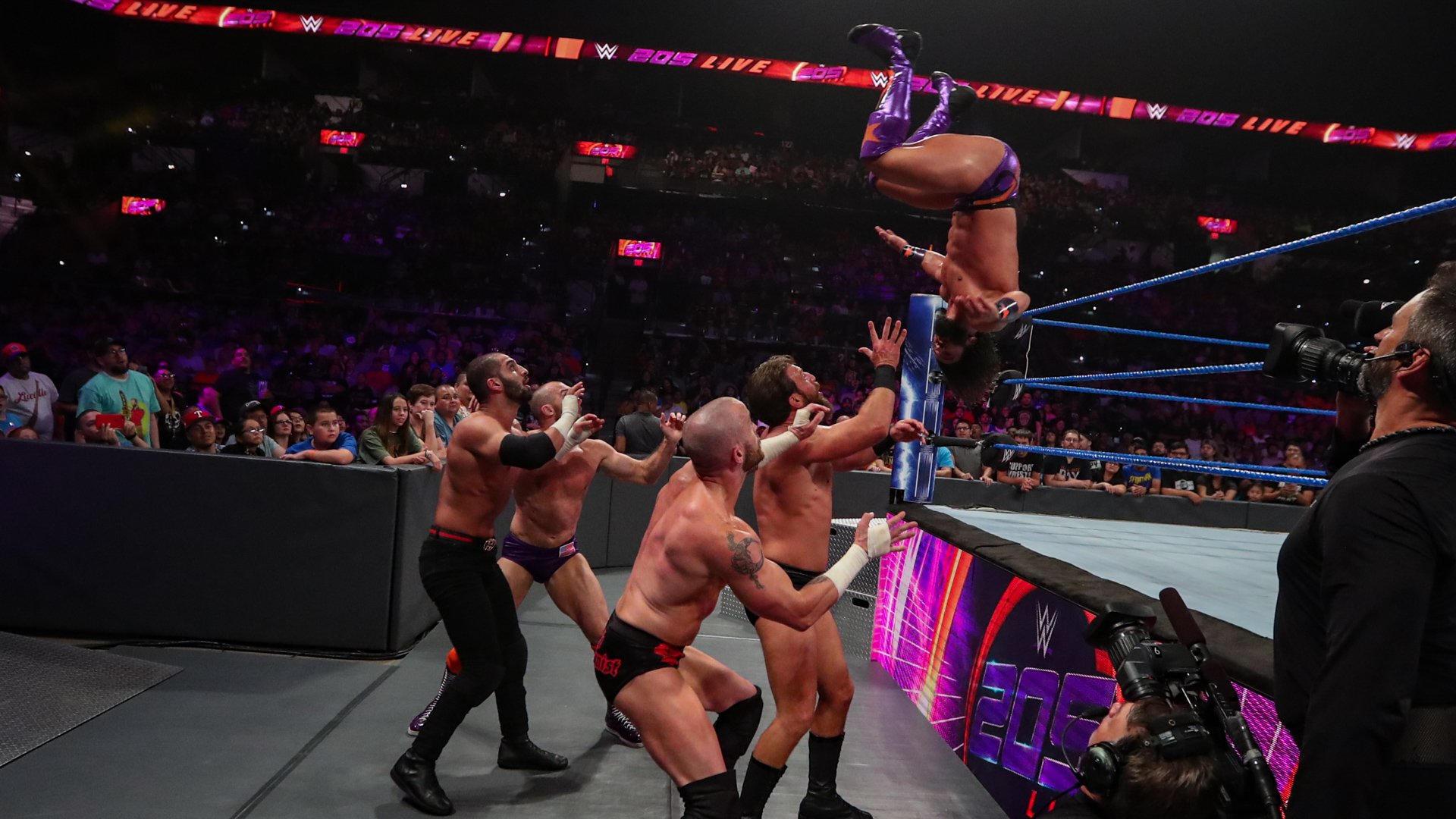 WWE 205 LIVE 02.07.2019