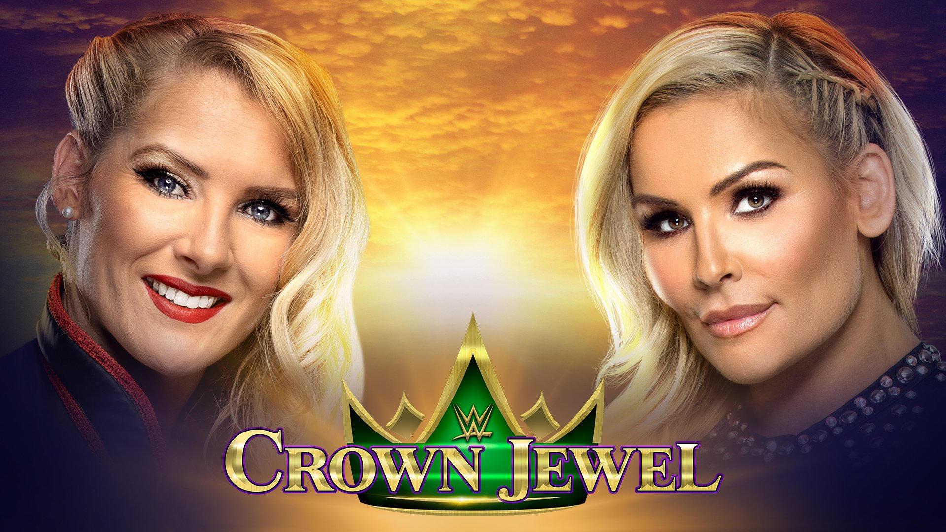 premier match féminin Arabie Saoudite Lacey Evans Natalya