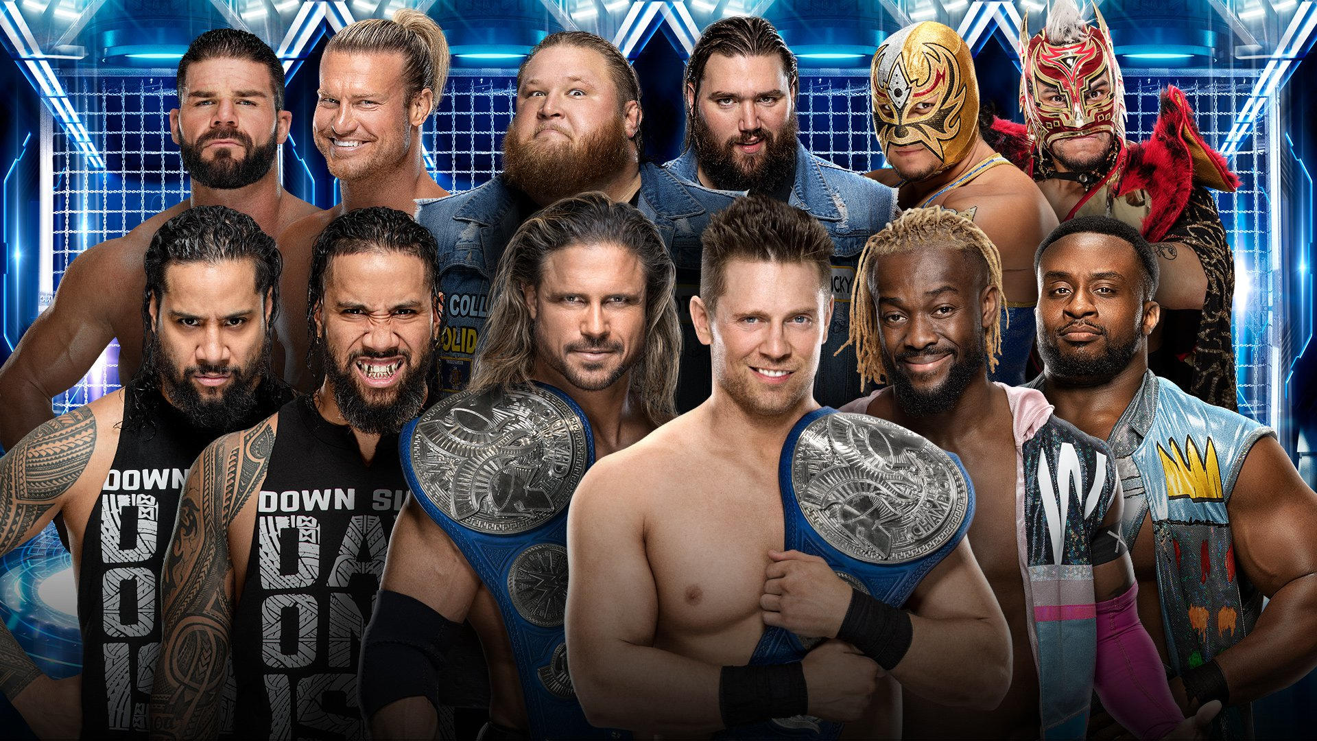 Elimination Chamber Match tag team