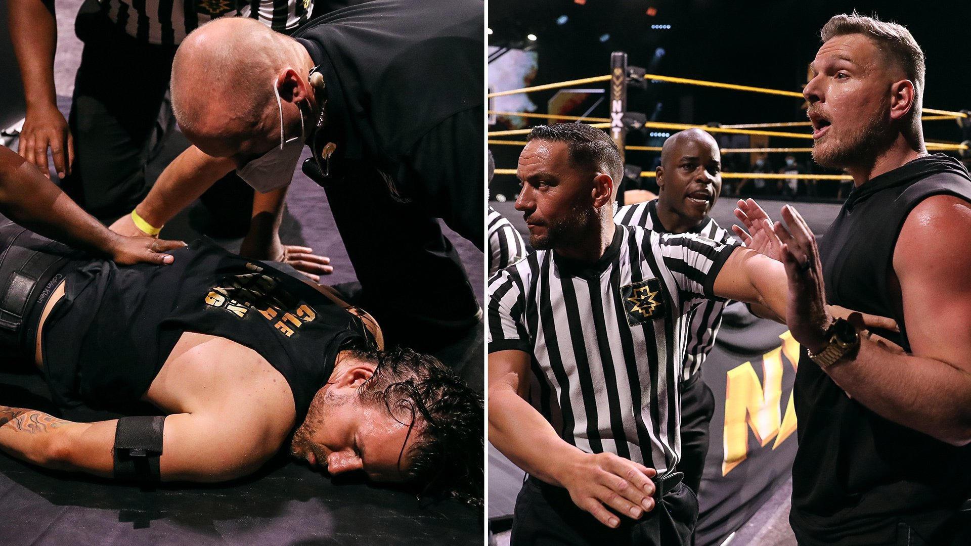 Pat McAfee divulga seu treinamento para o NXT TakeOver XXX e manda recado para Adam Cole