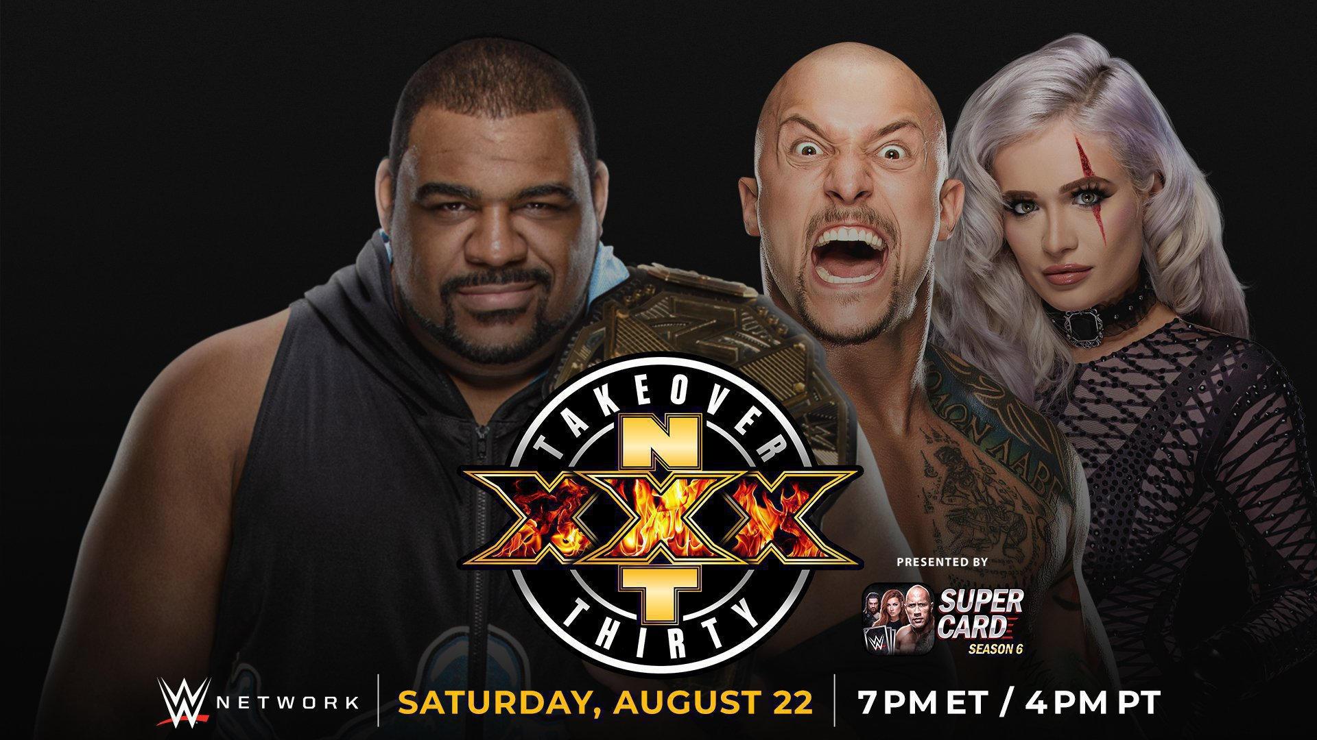 Cobertura: NXT TakeOver XXX – Tik-Tok!