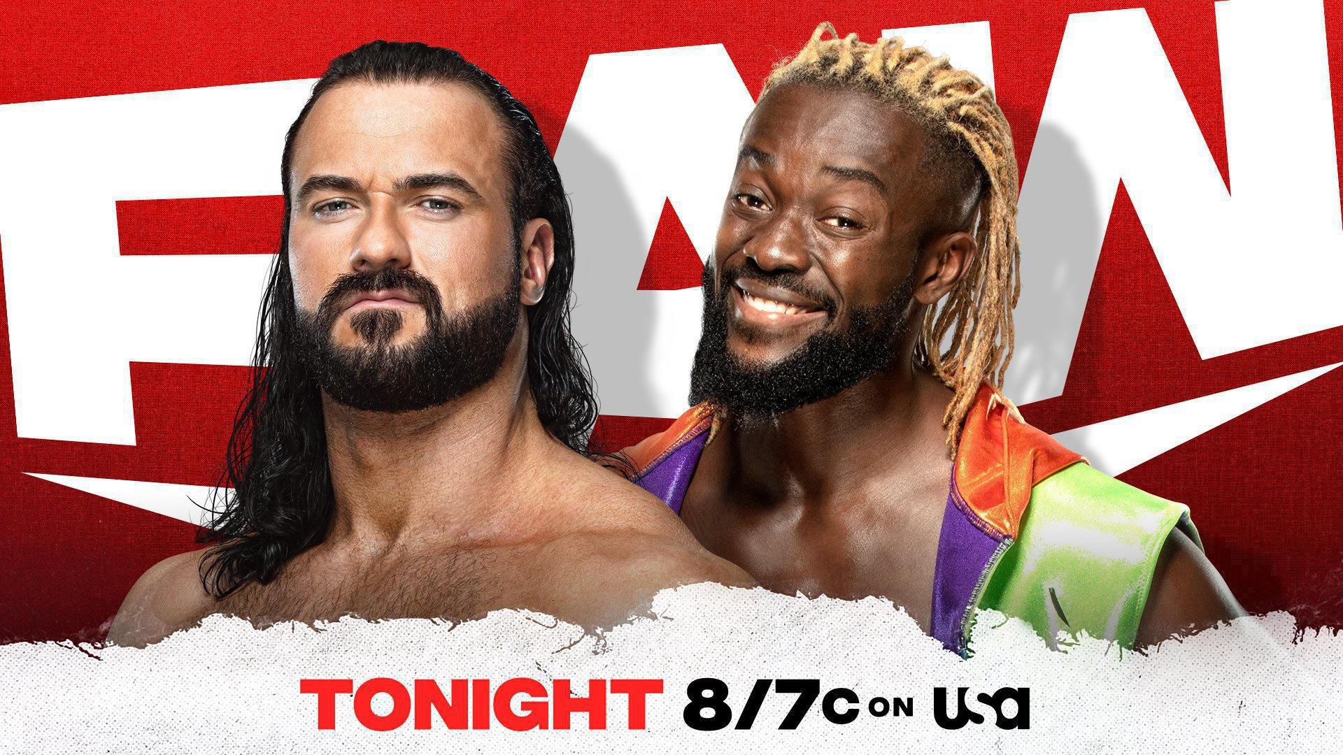 Hoy en Monday Night Raw.
