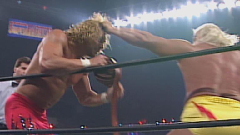 Sting & Lex Luger vs. The Road Warriors: SuperBrawl VI - WCW Tag Team  Championship Match | WWE