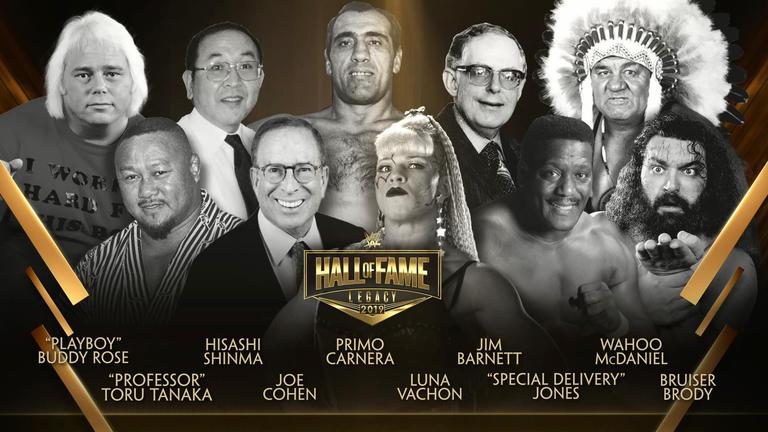 2019 WWE Hall of Fame | WWE