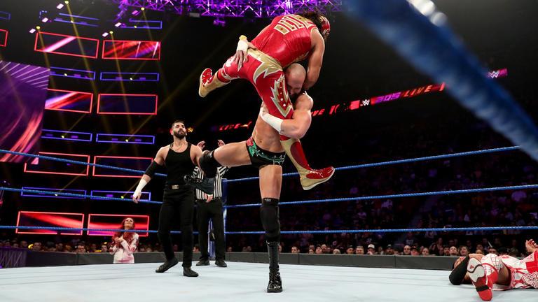 Wrestler vs hot milf