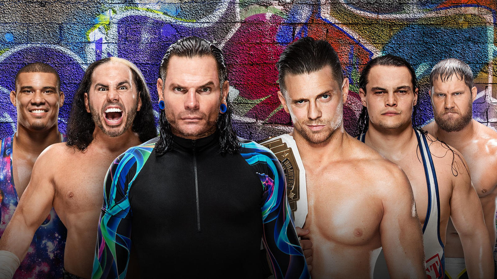 Image result for The Hardy Boyz and Jason Jordan Vs. The Miz and The Miztourage Summerslam