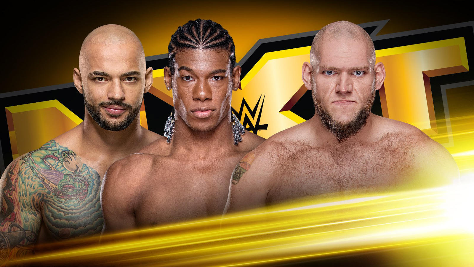 Three of NXT's biggest starts face off in a 2v1 Handicap!