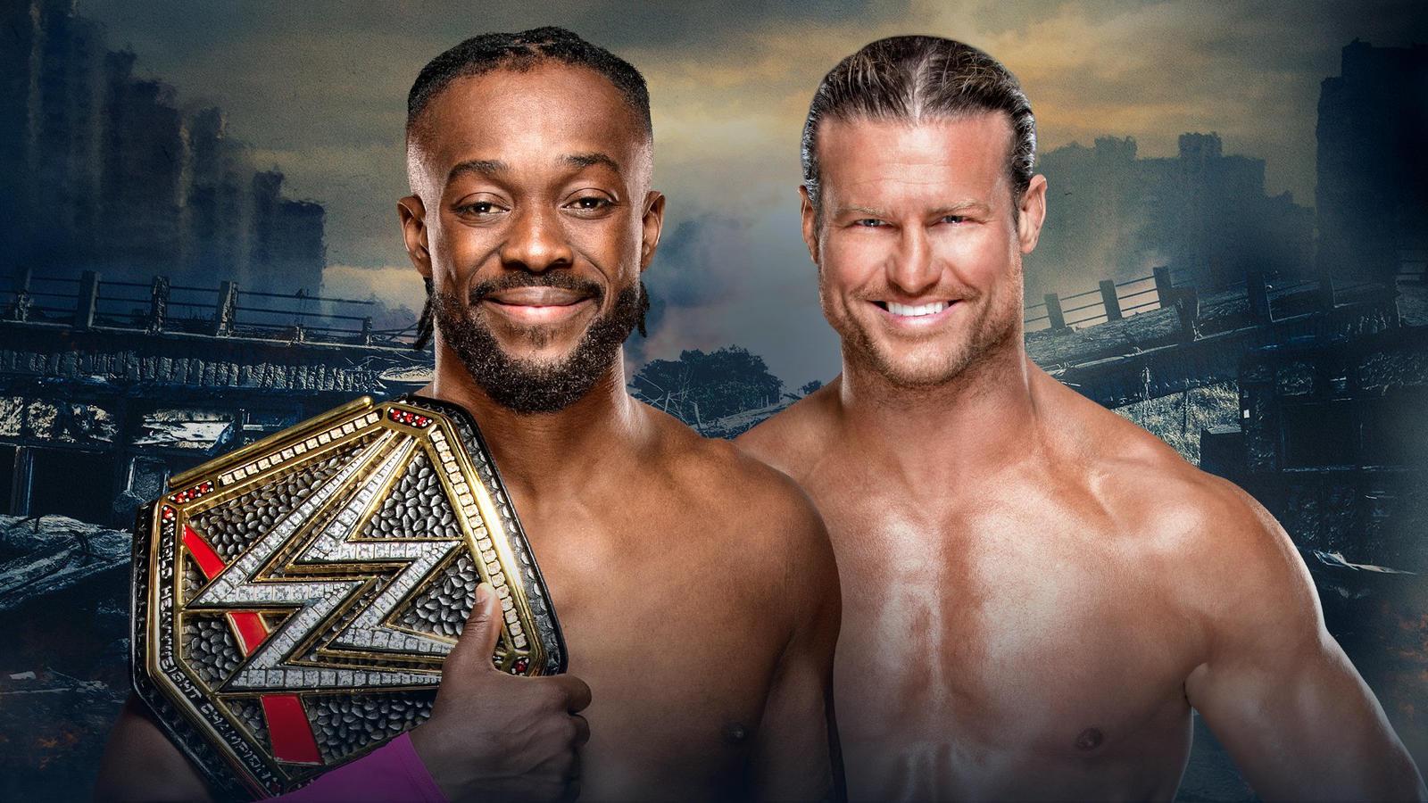WWE Champion Kofi Kingston vs. Dolph Ziggler (Steel Cage Match)