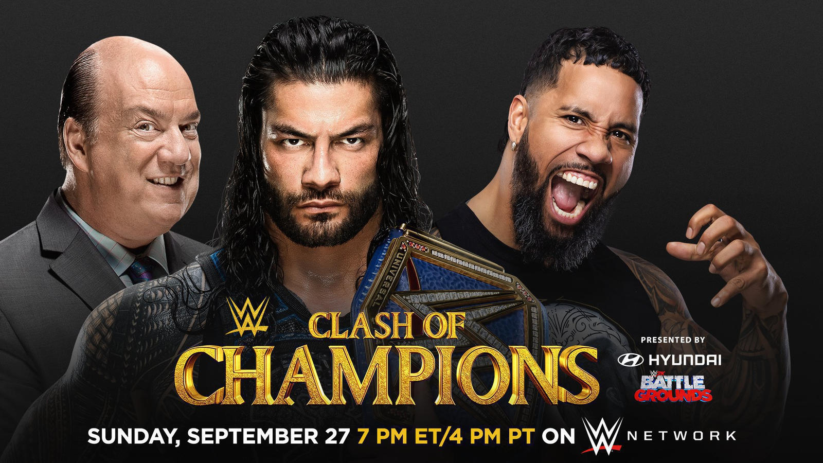 WWE Clash Of Champions 2020: Roman Reigns To Battle Cousin For Universal Title 1