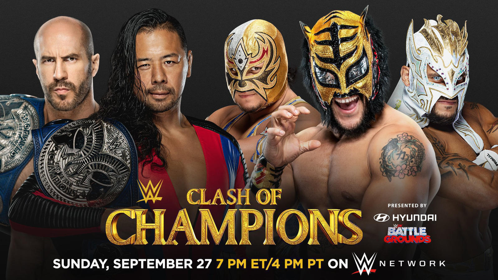 WWE Clash of Champions 2020: Triple Threat Ladder Title Match Set; Updated Card 2