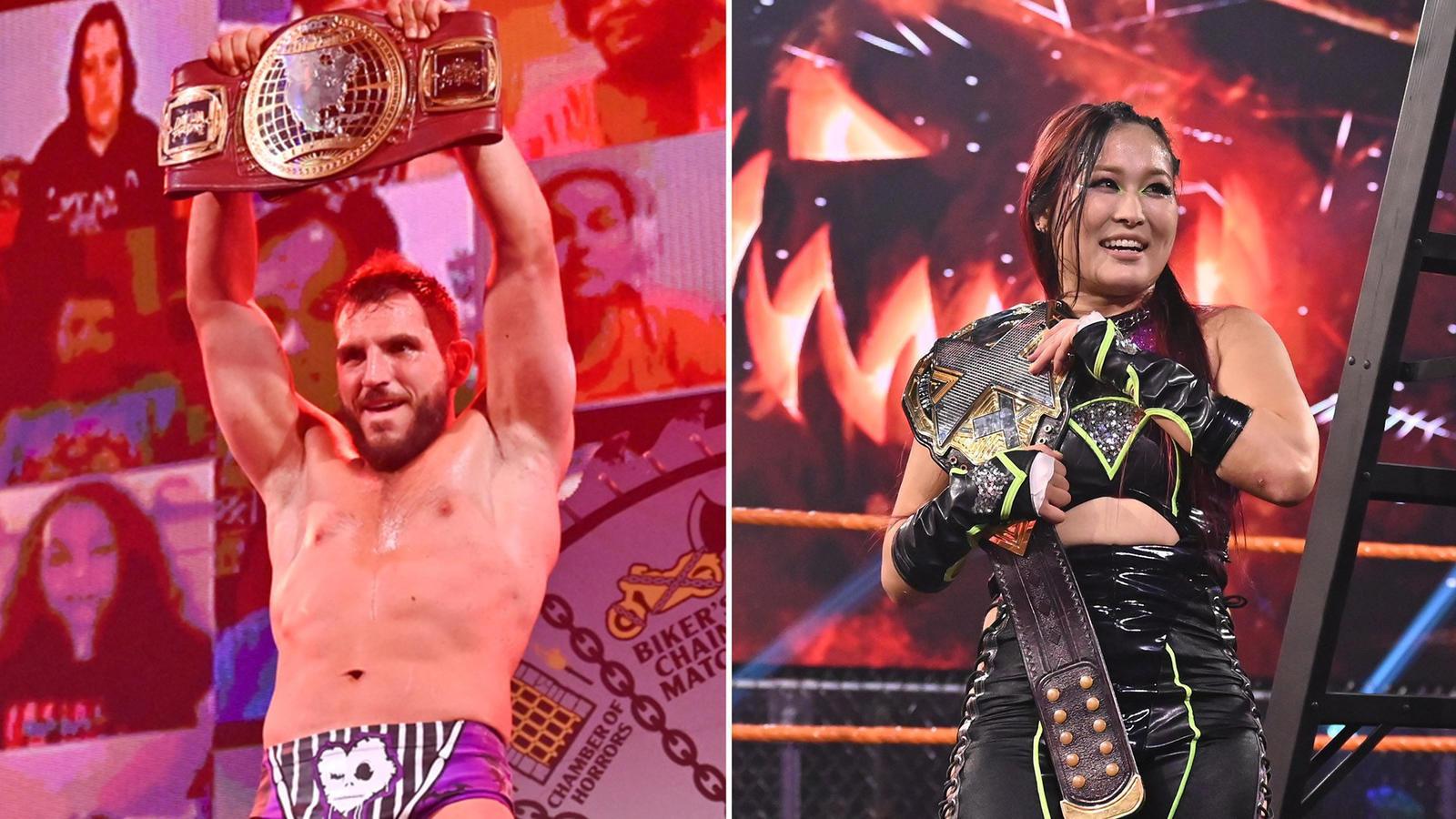 Halloween Havoc 2020: New Champion And Heel-Turn On WWE NXT 1