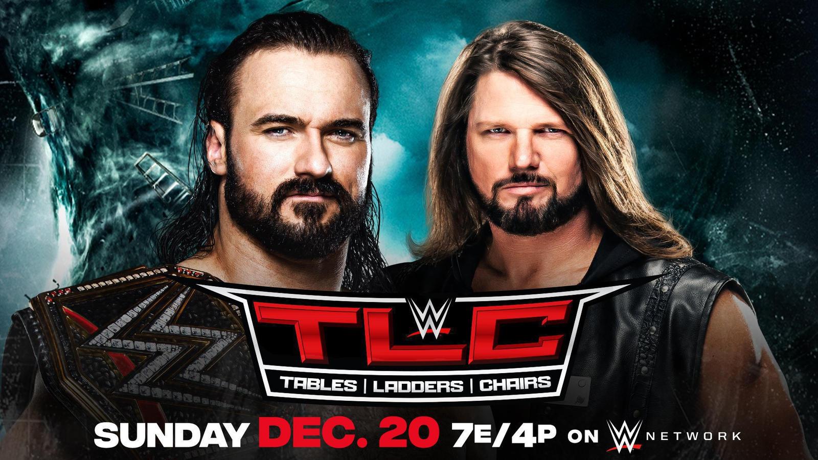 Drew McIntyre and AJ Styles Now a TLC Match