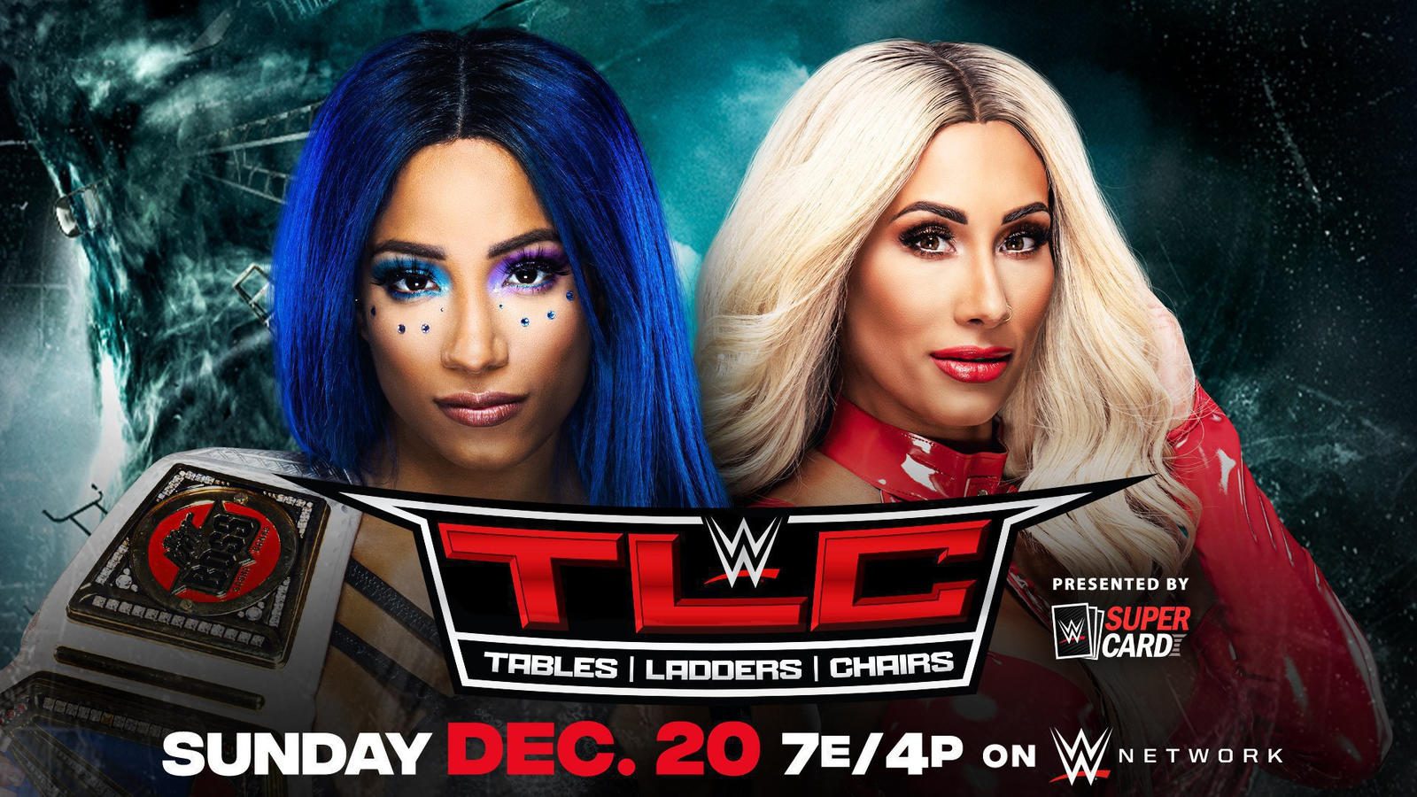 Carmella Vs. Sasha Banks Set For WWE TLC