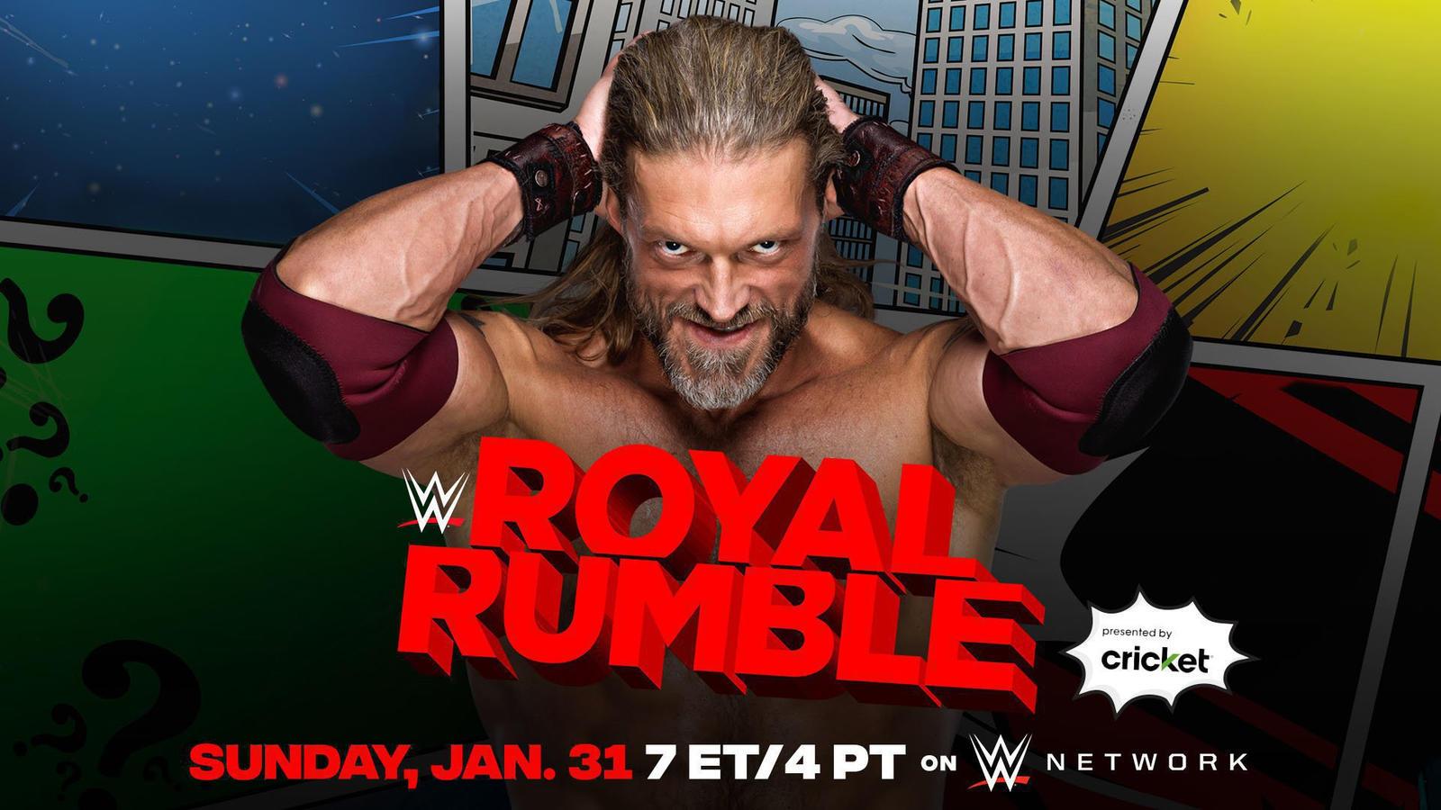 Royal Rumble 2021: WWE Announces Edge's Return; Title Match & More 1