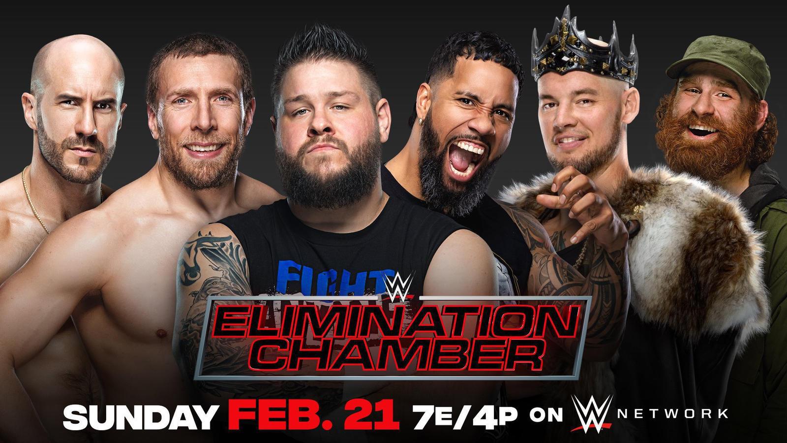 Jey Uso vs KO vs King Corbin vs Sami Zayn vs Cesaro vs Daniel Bryan